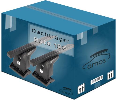 Dachträger Für VW California T5 03-15 mit Fixpunkten Stahl Schwarz 140cm