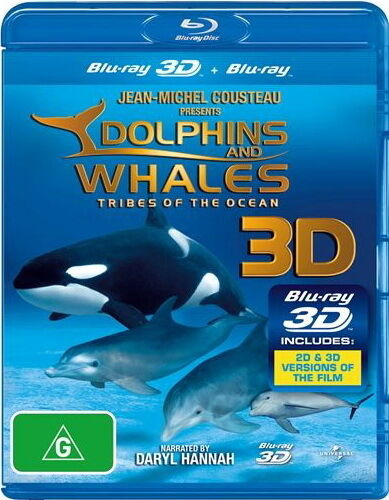 1 of 1 - Dolphins And Whales - Tribes Of The Ocean 3D -  NEW Blu-Ray