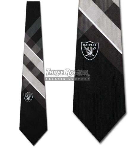 Oakland Raiders Ties FREE SHIPPING Mens Raiders Necktie Licensed Neck Tie NWT