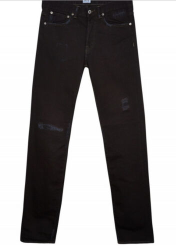 L34 Jeans Tapered Noir Val W36 profond Homme Ed Mince 110 Edwin 80 rHgqSzwCr