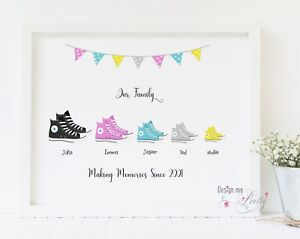 08e0791e89594e Image is loading Family-Converse-Print-New-Home-Our-Family-Personalised-