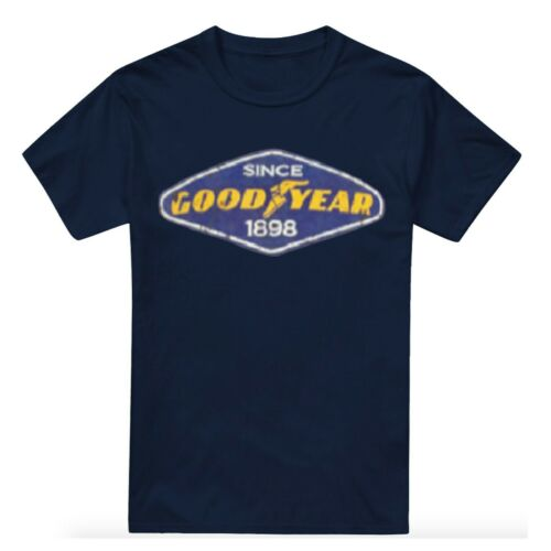 Goodyear Sizes S-XXL Official Licensed Petrol Heads Mens T-shirts
