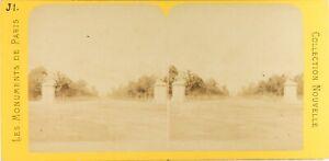 Francia-Parigi-Avenue-Dei-Campi-Elysee-Foto-PL61L-Stereo-Albumina-Ca-1868