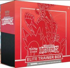 Battle Styles Sword & Shield Elite Trainer Box Pokemon Red Single Strike Urshifu