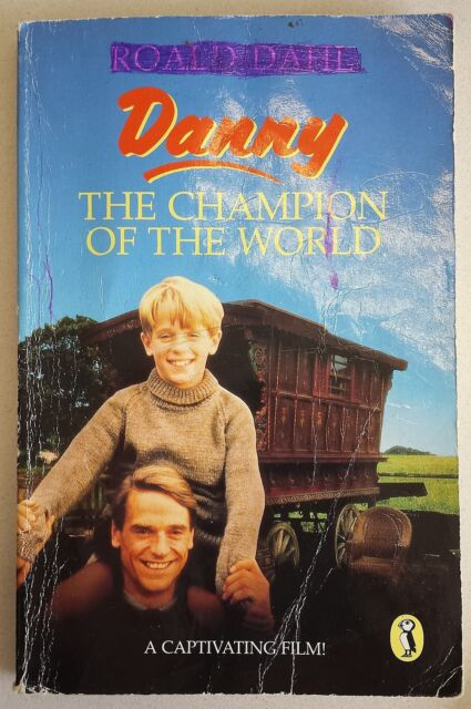 Danny, the Champion of the World Roald Dahl FREE AUS POST acceptable cond PB1975