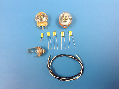 P BASS WITH 6 POSITION TONE SWITCH WIRING KIT - Expand your tone options