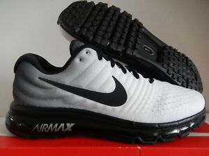 low priced 4358b aee99 Details about NIKE AIR MAX 2017 ID WHITE-BLACK SZ 12 WOMENS/MENS SZ 10.5  [918092-992]