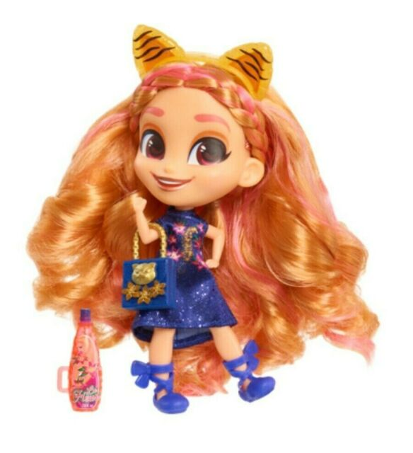 SEALED New 2020 Hairdorables Series 4 Tiger Kat Doll - Cat Birthday Gift Doll