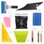 thumbnail 1 - 8 PCS Pro Window Tint Kits Wrapping Vinyl Tools Squeegee Scraper Applicator