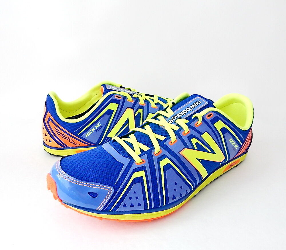 NWB New Balance Men's MXC700 Cross Country Spikesless Shoe Size 11D  Blue/Yellow