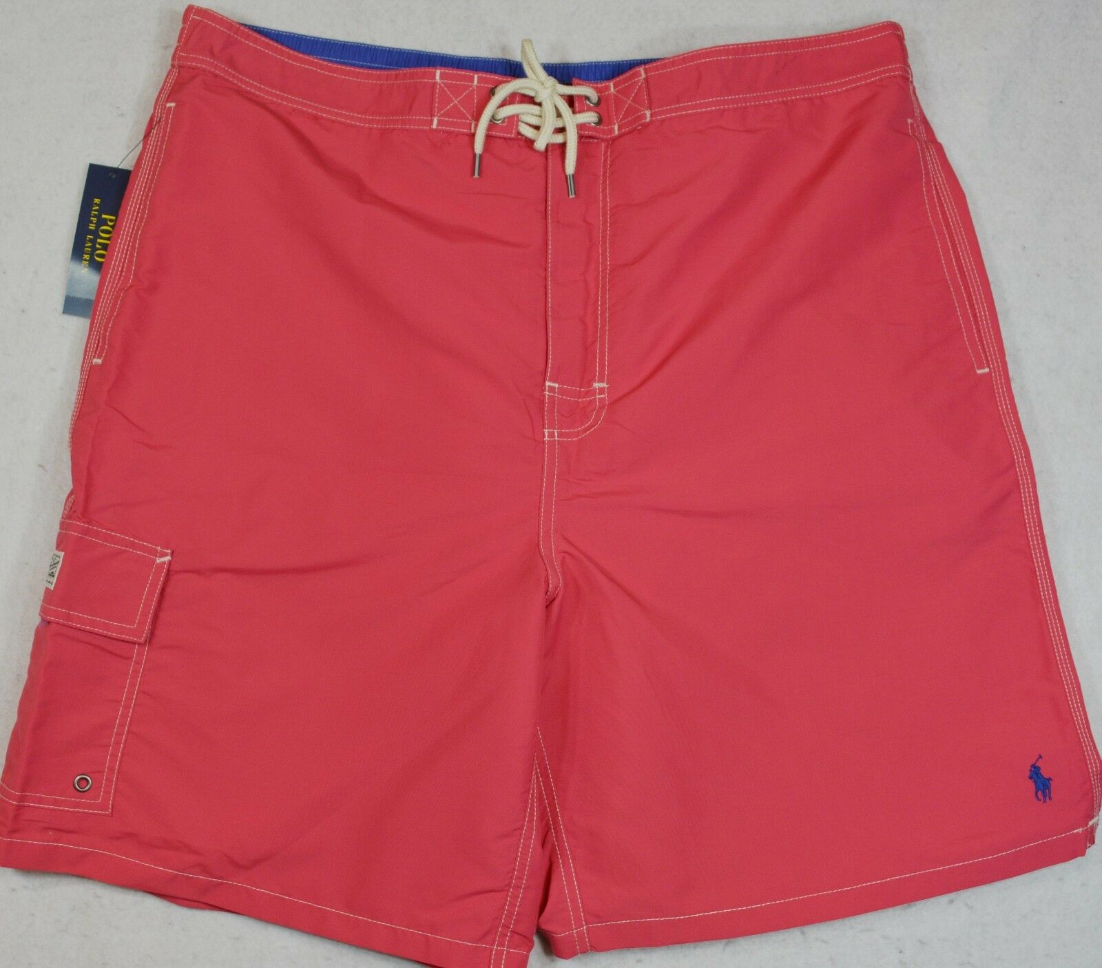 d890a4fa32eb5 Polo Ralph Lauren Swim Trunks Board Pink 4XB 4XL 4X NWT Shorts Tropical  nvkvgr822-Swimwear