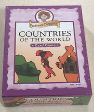 PROFESSOR NOGGIN/'S COUNTRIES OF THE WORLD EDUCATIONAL TRIVIA CARD GAME OUTSET