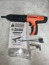 Ramset Cobra Plus 027 Caliber Semi Automatic Powder Actuated Tool Mint Condit