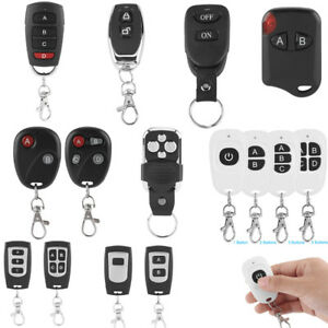 433MHz-1-4-Channel-1-4-Buttons-RF-Wireless-Learning-Remote-Control-Transmitter-H