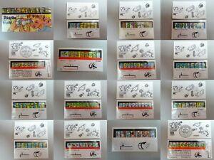 KAMERAS-Versch-Beipackzettel-BPZ-amp-Folienaufkleber-AKF-D-EU-zur-Auswahl