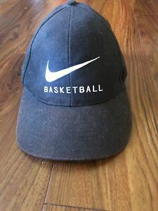 Vintage 90's Nike Basketball Snapback Hat Big Swoosh   eBay