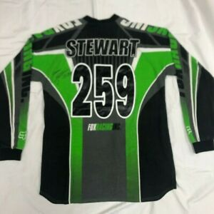 VINTAGE-James-Stewart-259-signed-Fox-Jersey-Thom-Veety-Collection-AHRMA