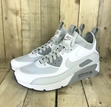 new products 55974 9fadc item 2 Nike Air Max 90 Ultra Mid Winter Shoes Mens Size 9 Pure Platinum  White New -Nike Air Max 90 Ultra Mid Winter Shoes Mens Size 9 Pure Platinum  White ...