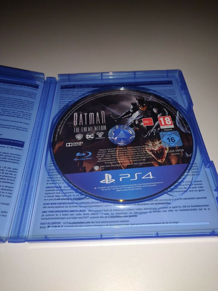 Batman: Telltale series: The enemy within, PS4, strategi