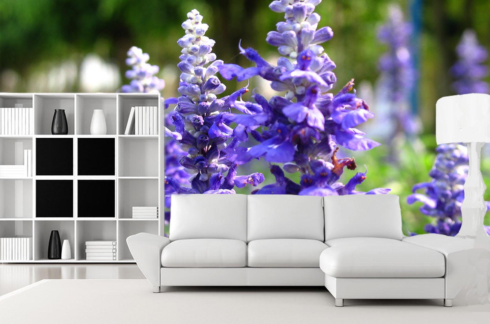 3D Lavendel-Fotografie 72 Tapete Wandgemälde Tapete Tapeten Bild Familie Familie Familie DE   Moderne und elegante Mode  d8d7a0