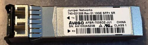 Juniper Networks QFX-SFP-10GE-SR 10GBE SFP 850nm 300M transceiver w//60day />500p