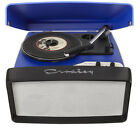 Crosley Collegiate Red 3 Speed Vinyl Turntable Record Player With USB