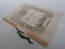 The Worshipful Company of Musicians - Livery Banquet 1928 - Rare ephemera