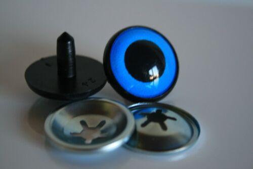 Blue Safety eyes 12 mm stuffed animal toy amigurumi crafts teddy bear
