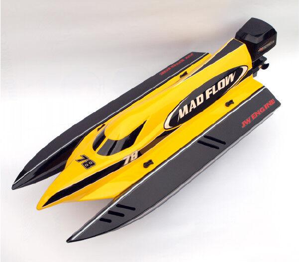 Joysway RC Bateau de course F1 F1 F1 Mad 60km/h sans brosse Catamaran vedette RTR adf3e9