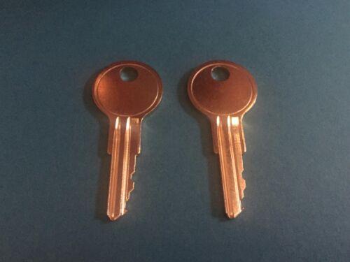2 Corry Jamestown File Cabinet Keys Office Furniture HL01 thru HL50 Desk Key