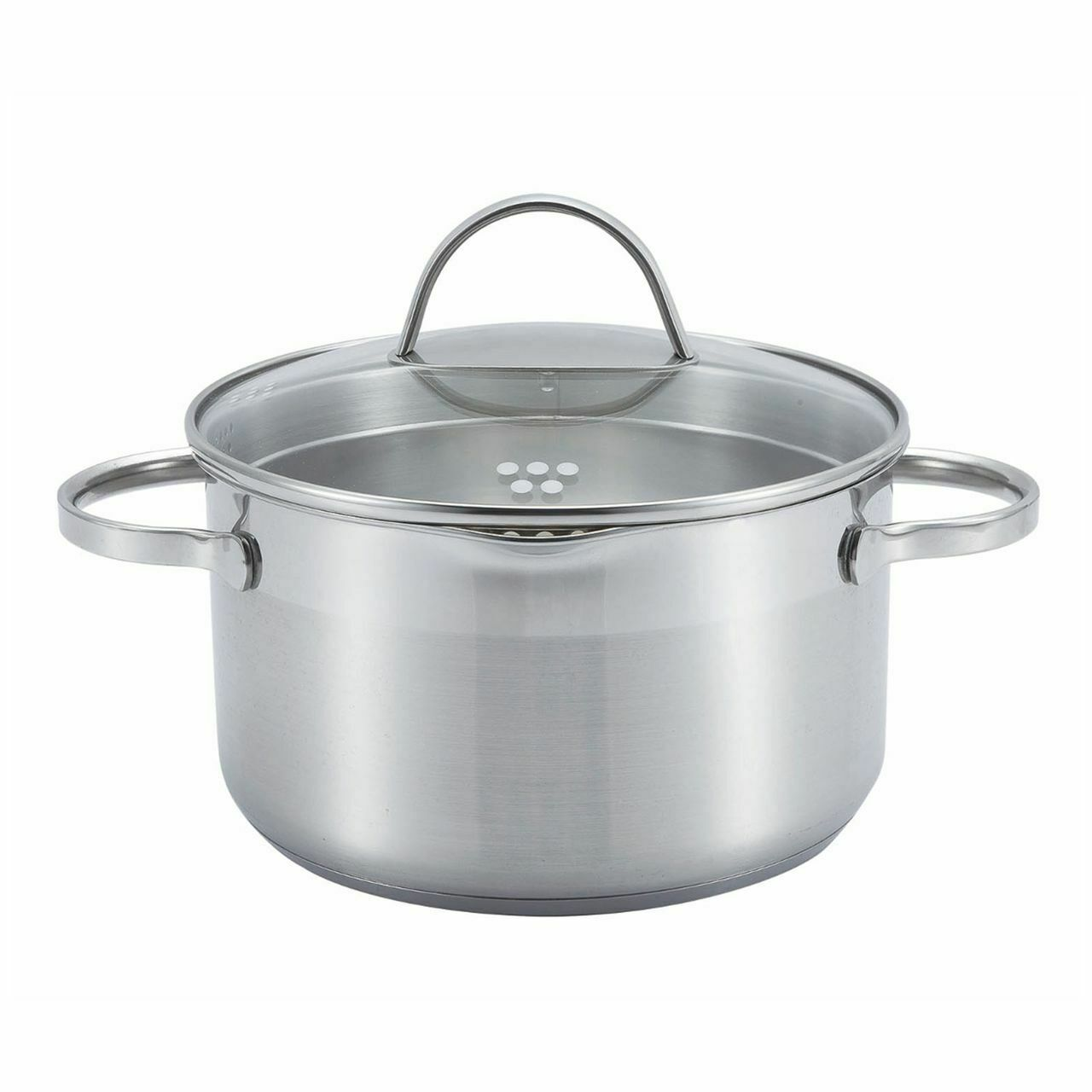 Ssw Comfort Saucepan with Glass Cover, Stainless Steel, Ø 24 cm, 6,1 L