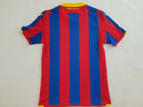 Crystal Palace Maillot Home 2017//18 Macron body fit taille L XL XXL-NEUF