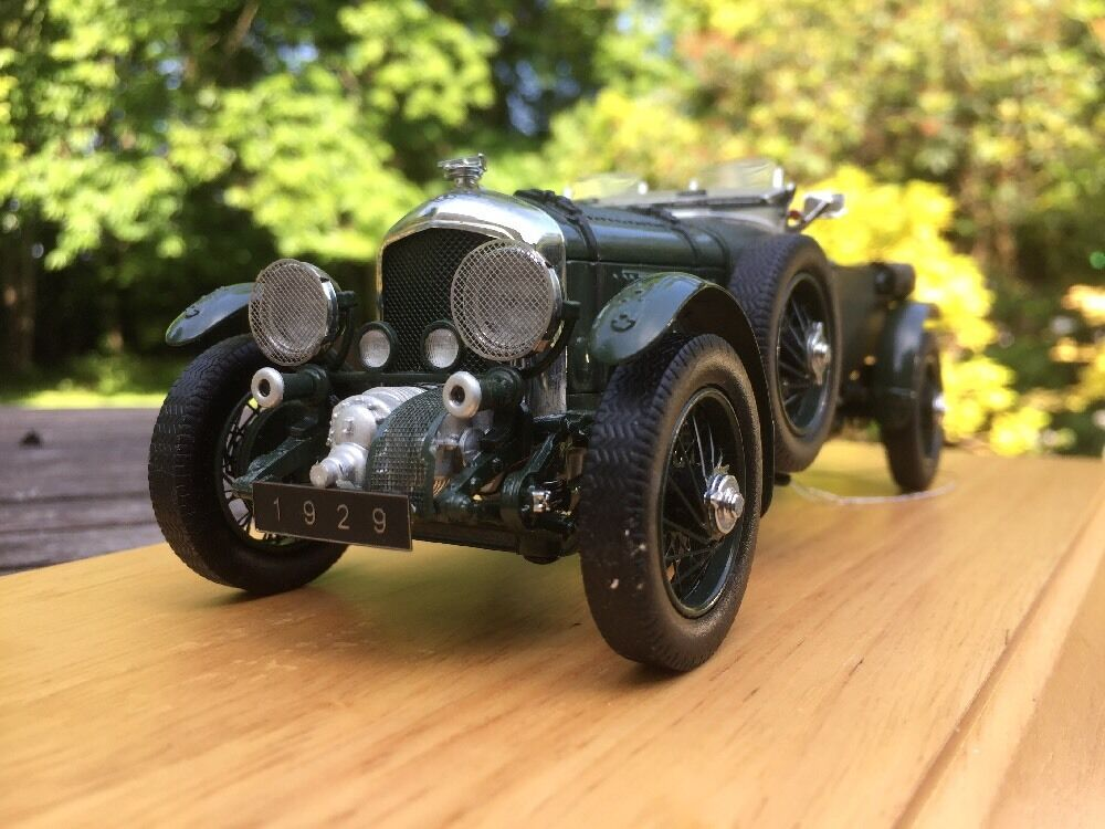 Franklin Mint 1 24 Bentley Soplador sobrealimentados Lemans Racing Car 1929