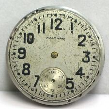 Waltham USA Rare/Collectable 7 Jewels Size 3/0's 1907 Antique Watch Movement..
