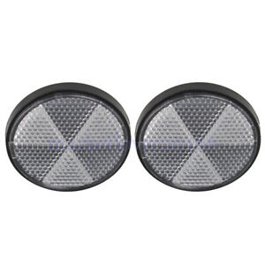 2pcs-Round-Front-Clear-Reflector-Set-Motorcycles-ATV-Bikes-Dirt-Bikes-Universal