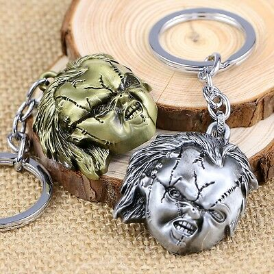Details about  /Bronze Childs Play Bride of CHUCKEY 3D Metal Alloy KEY CHAIN Ring Keychain NEW