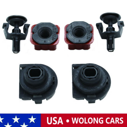 New Radiator Mount Bracket Kit Fit for Mercedes Benz C200 C280 C300 GLK350 SL500