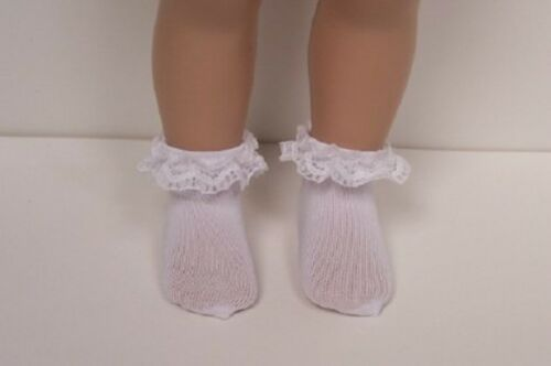 """ONE 1 Pair LACE Socks Doll Clothes For 10/"""" Ann Estelle Sophie Patsy Debs"""