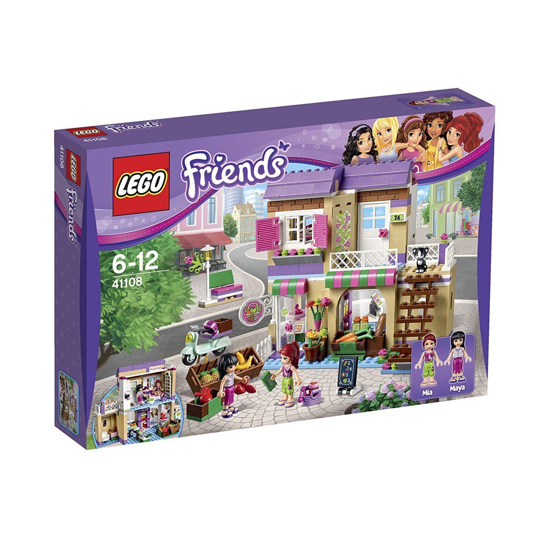 BNIB - LEGO Friends 41108 - Heartlake FOOD MARKET - Mia Maya Figures Supermarket
