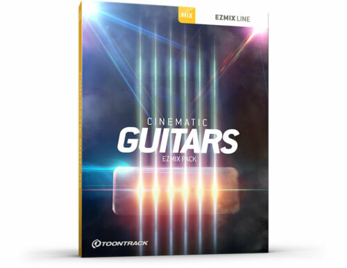 Digital Genuine License Serial Toontrack Cinematic Guitars EzMix Pack