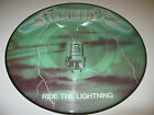 Metallica ''Ride The Lightning'' Green Lp Vinyl 12'' Picture Disc Record