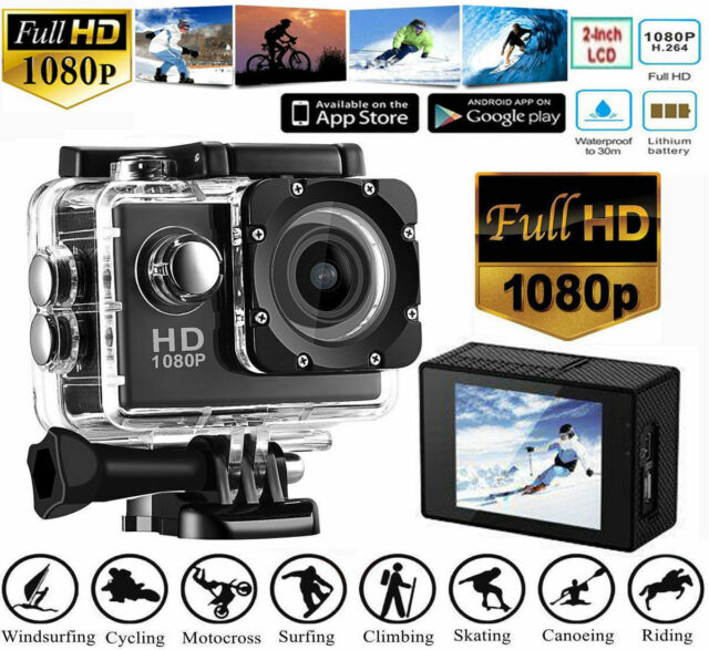 SJ4000 HD 1080P Action Under Water Sports Camera DVR Helmet Cam Camcorder UK