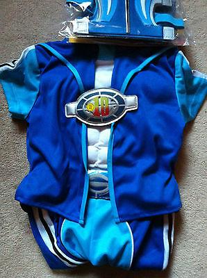 Aggressivo Lazy Town Sportacus Costume Con Tutti Gli Accessori Età 3-4 Anni Nuovo Con Etichetta-mostra Il Titolo Originale Ad Ogni Costo
