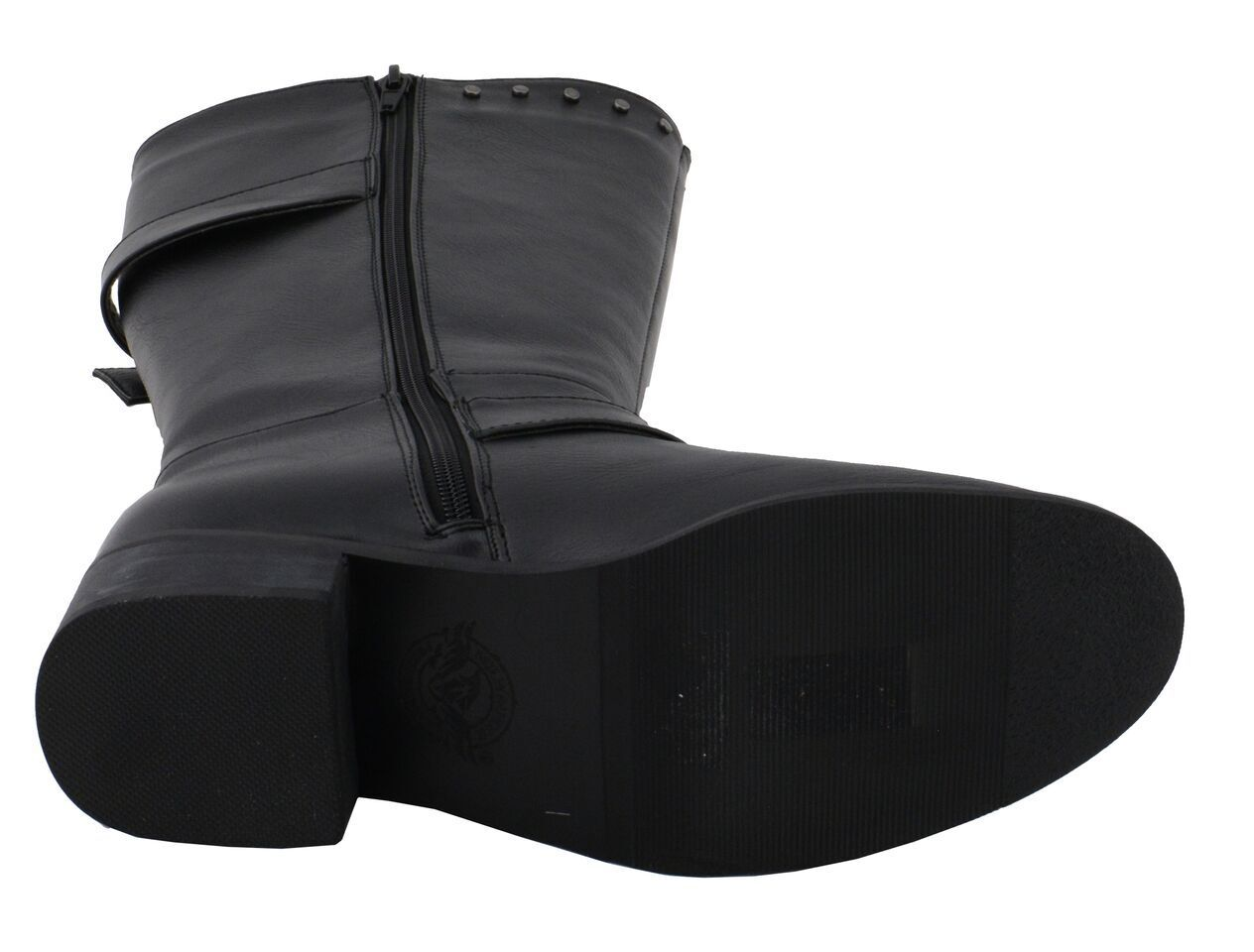Milwaukee Performance Women's Studded Black Boot W/ Studded Outsole  **MBL9423