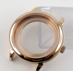 40mm-Polished-Rose-Gold-Stainless-Steel-Watch-Case-Fits-ETA-2824-2836-MIYOTA-82