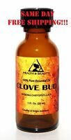 Clove Bud Essential Oil By H&b Oils Center Aromatherapy Glass Bottle 1 Oz, 30 Ml