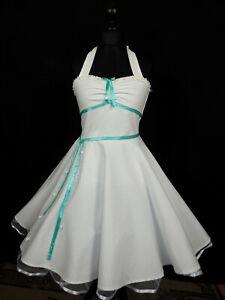 50er,Petticoat Rockabilly,Tanz,Konfirmation,Abiball,Abend,Kleid,Dress,34-54 Maß