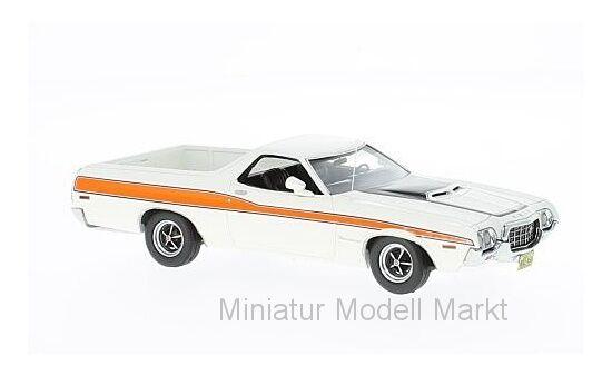 Neo Ford Ranchero GT - weiss orange - 1972 - 1 43