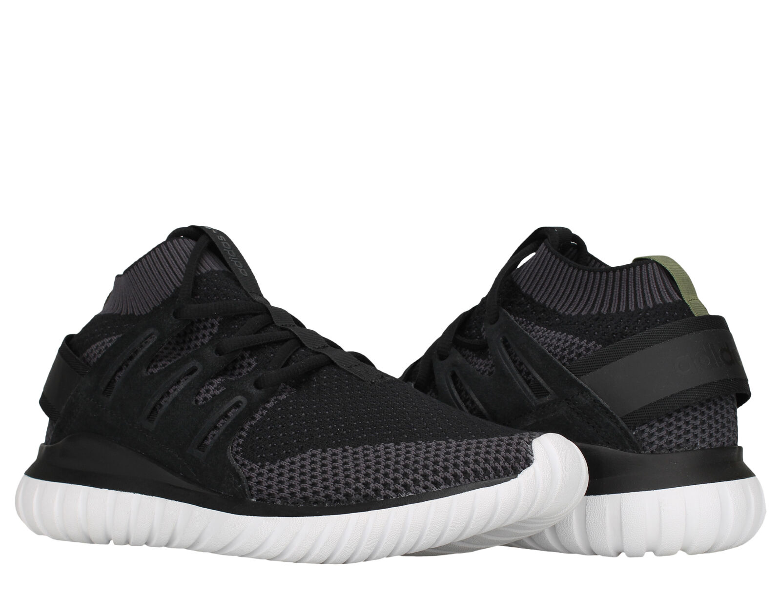 Adidas Tubular Nova PK Primeknit Black/White Men's Running Shoes S74917