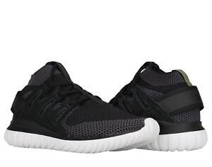 e50c3e39b7e7e Details about Adidas Tubular Nova PK Primeknit Black/White Men's Running  Shoes S74917